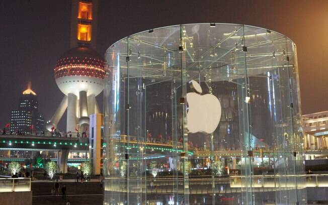 China possui 10 Apple Stores, como a de Shangai