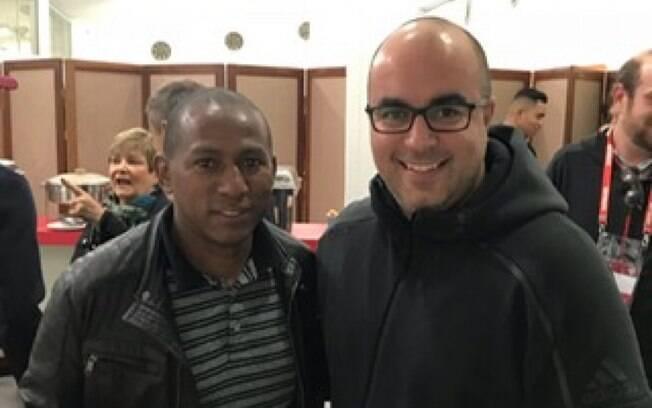 Rodrigo Gaspar com Mineiro