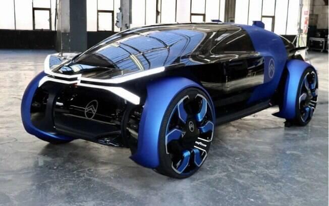A Citröen tem uma tradição de demonstrar veículos-conceito que antecipam detalhes de estilo de futuros modelos