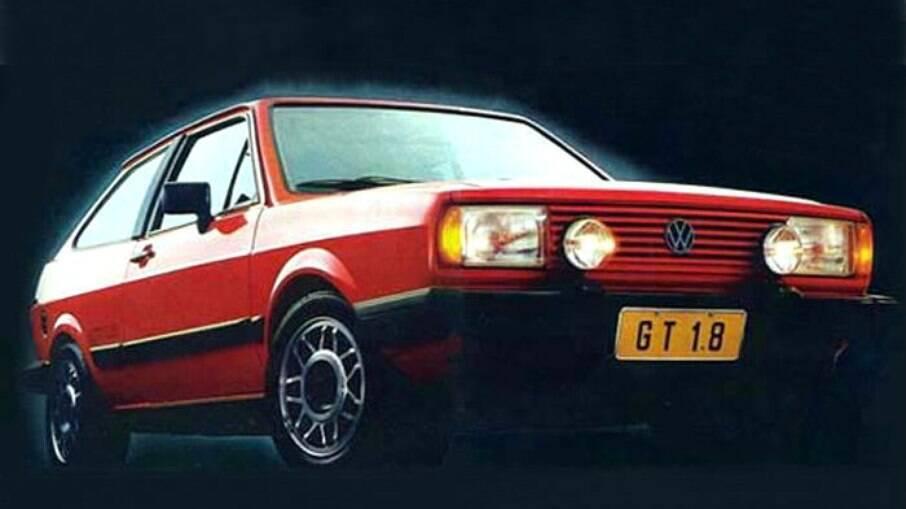 Volkswagen Gol GT foi lançado em 1984 com a missão de