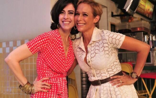 Fernanda Torres e Andréa Beltrão vivem Fátima e Sueli em