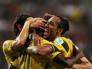 Borussia encaminhou a vitória abrindo 2 a 0 logo com 15 minutos de jogo