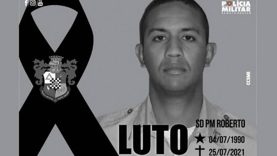 PM Roberto Rodrigues, morto em briga de bar no Mato Grosso