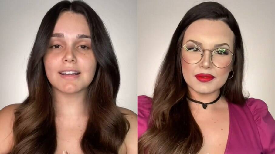 Maquiadora Letícia Gomes se transforma em juliette