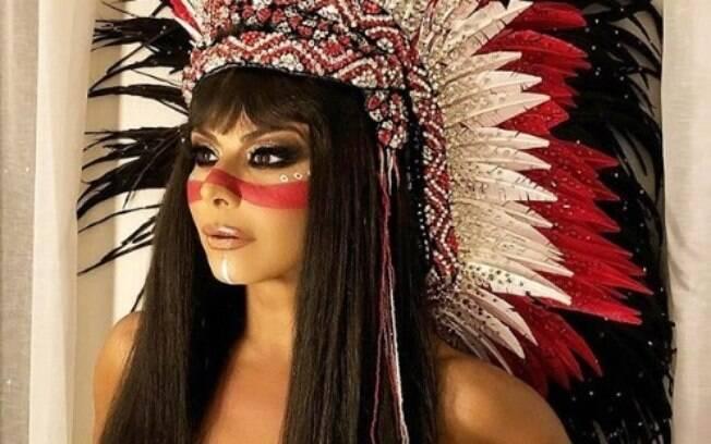 Dentre as musas do carnaval paulista, Viviane Araújo é a favorita do público