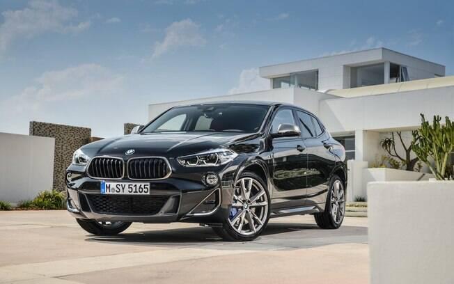 BMW X2 M35i: ENtre os SUVs presentes no Salão de Paris, deverá se destacar entre os europeus, fanáticos por esportivos