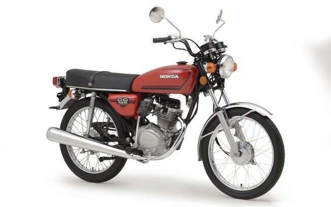 Entre os modelos históricos que estão no museu da Honda está a CG 125 de 1976, o primeiro da marca feito no Brasil