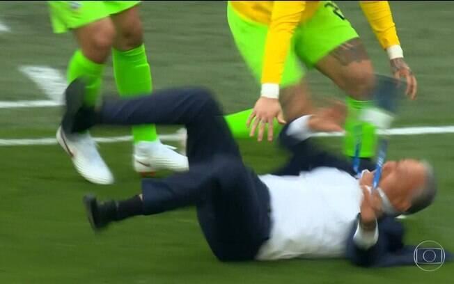 Tombo de Tite marcou vitória do Brasil contra a Costa Rica na Copa do Mundo