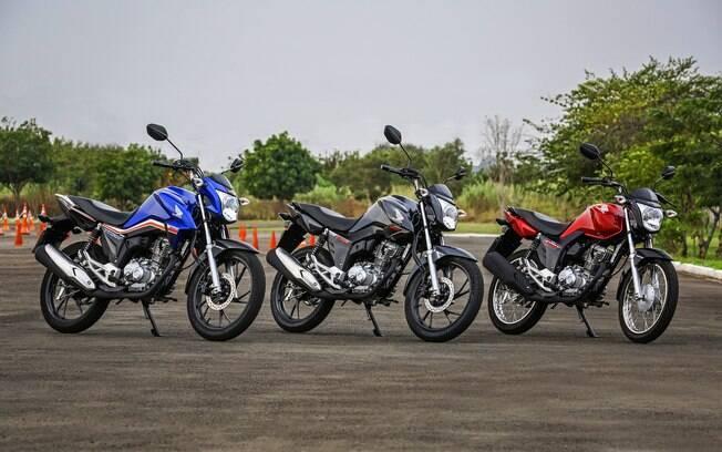Eis a linha completa da Honda CG 2019 com algumas novidades. Moto é a mais vendida do Brasil desde o lançamento