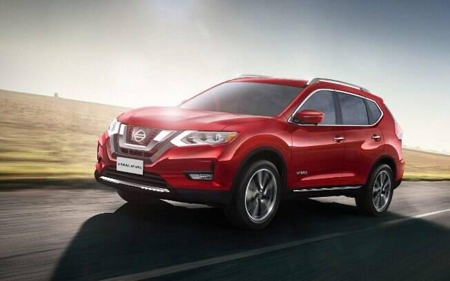 O Nissan X-Trail Hybrid foi atração do Salão do Automóvel 2018. Sua versão a combustão ainda está nos planos