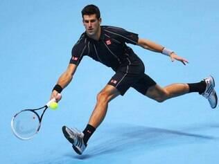 Novak Djokovic deixa claro que está firme na briga por mais um título do ATP Finals