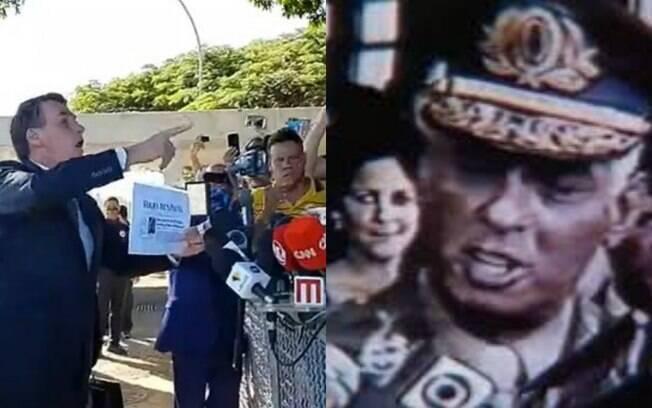 Ação de Bolsonaro foi comparada ao de general da ditadura