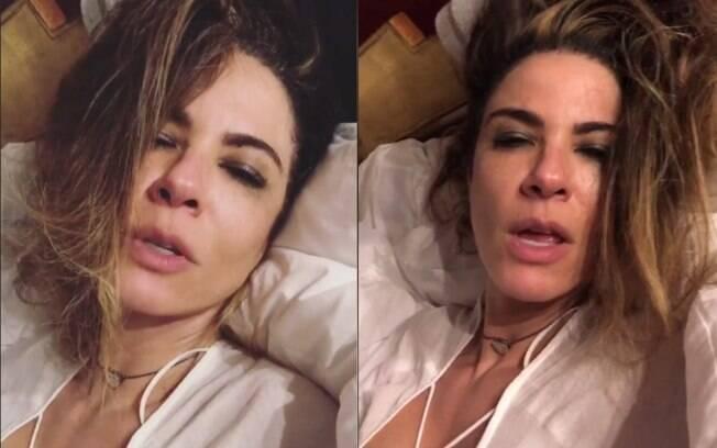 Luciana Gimenez brinca no Instagram e se esquiva de polêmica