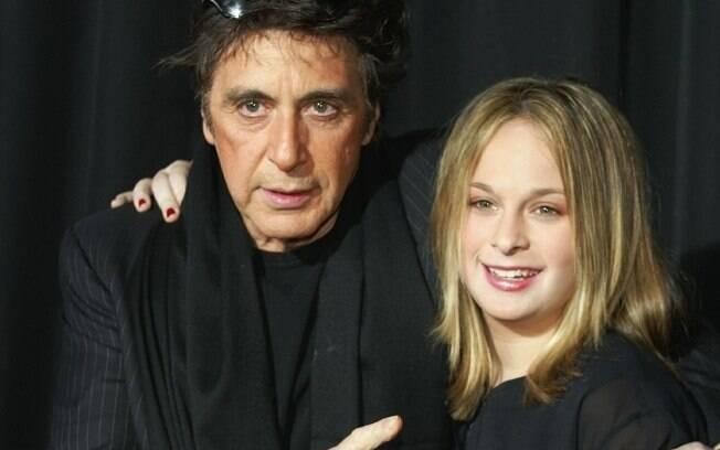 Al Pacino e a filha Julie Marie