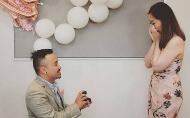 Antes da foto para anunciar noivado que viralizou na web, Diana organizou a própria festa sem saber a real intenção de José
