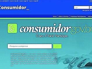 De olho.  Página garante sigilo de dados pessoais, mas reclamação será disponibilizada para todos