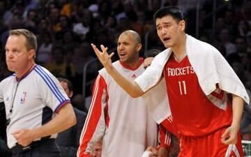 Ídolo do Rockets é nomeado presidente da Federação de Basquete da China