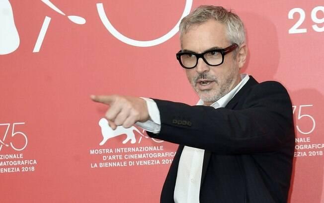 Alfonso Cuaron durante a 75ª edição do Festival de Veneza