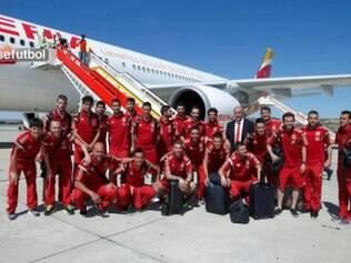 Primeira colocada do ranking da Fifa, a seleção espanhola tentará quebrar 'essa escrita' na Copa do Mundo no Brasil