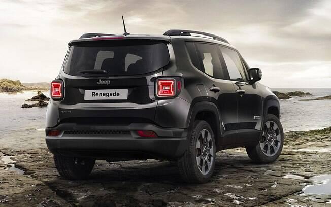 Pouco vai mudar na traseira do Jeep Renegade renovado. Uma das novidade ficará por conta do par de lanternas