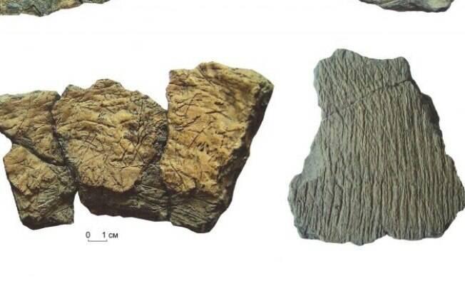 Cientistas estudam fragmentos de panela utilizada por caçadores da Sibéria