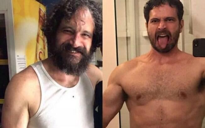 O ator Caco Ciocler perdeu 5kg para interpretar Edgar, personagem quase 20 anos mais jovem que o ator
