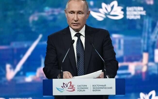 Especulações sobre saúde do presidente russo foram desmentidas nesta sexta-feira