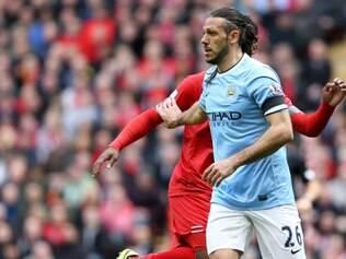 Martin Demichelis não escondeu a frustração no final do jogo contra o Liverpool, mas acredita que nada está ainda perdido