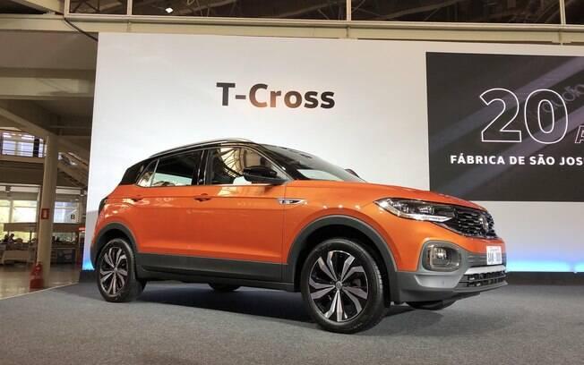 VW T-Cross é mostrado na fábrica na marca alemã no Panará, que acaba de completar 20 anos de história