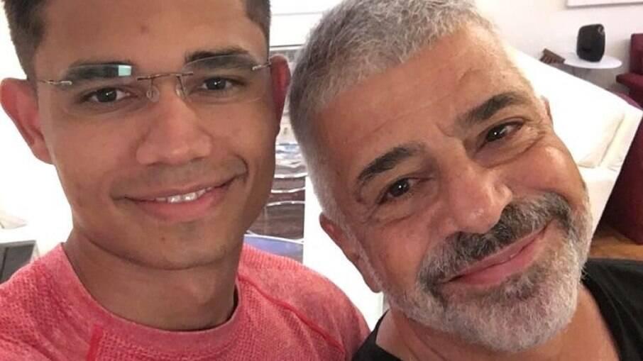Clebson Teixeira e Lulu Santos