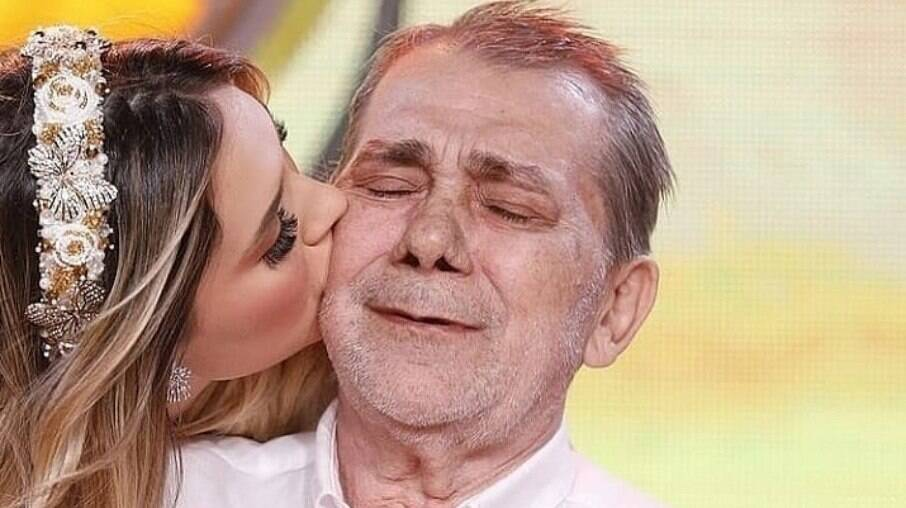 Virgínia Fonseca e seu pai
