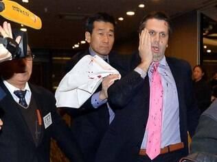 Embaixador americano foi ferido na capital sul-coreana por um homem armado com uma faca