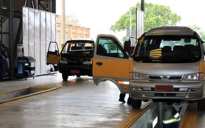 Emdec retoma inspeções para o transporte escolar, táxi e fretamento