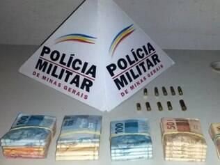 Polícia Militar (PM) aprende suspeito de participar de assalto a agência dos Correios