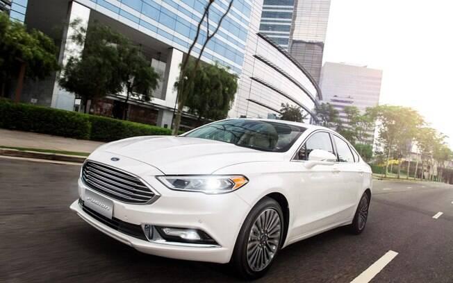 Ford Fusion 2017: versão híbrida consegue ser bastante eficiente quando o assunto é eficiência energética
