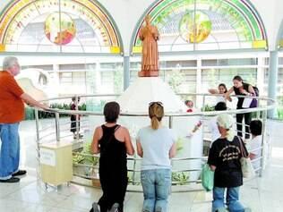 Estrutura. Atual Paróquia Sagrados Corações não vai sofrer alterações físicas para virar santuário