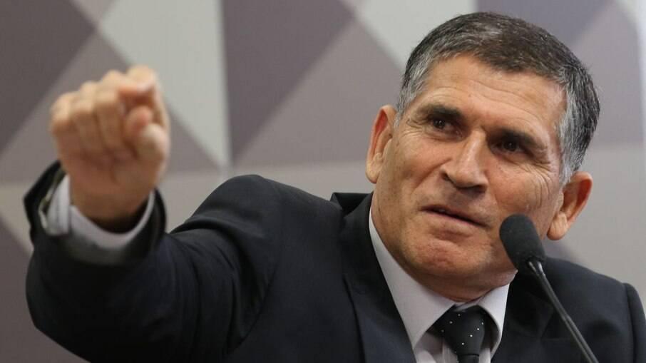 O ex-ministro-chefe da Secretaria de Governo da Presidência, general Carlos Alberto dos Santos Cruz
