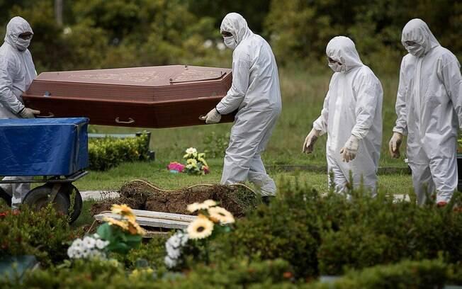 Brasil ultrapassou os 80 mil mortos por coronavírus