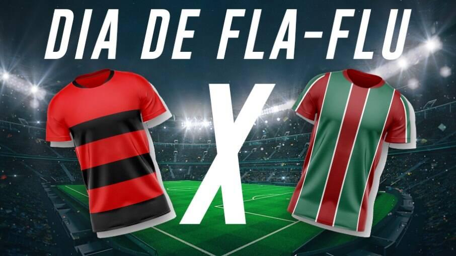 Flamengo e Fluminense se enfrentam pelo Carioca neste domingo (14)