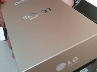Suposta foto da caixa do G3, na versão dourada