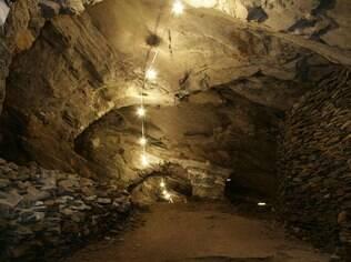 A Mina da Passagem é uma das atrações em Mariana