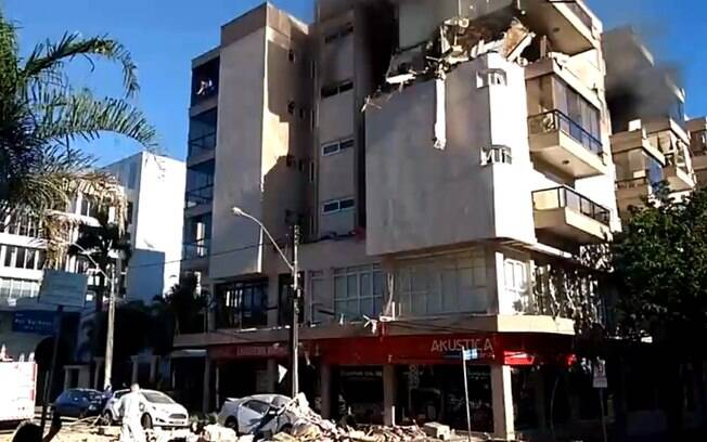 Explosão em prédio ocorreu por volta das 7h30, no municípo de Farroupilha, na serra gaúcha