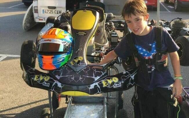 Gonzalo Basurto era piloto de kart