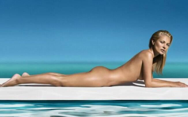 Kate Moss foi confirmada para a capa de Janeiro da 'Playboy'