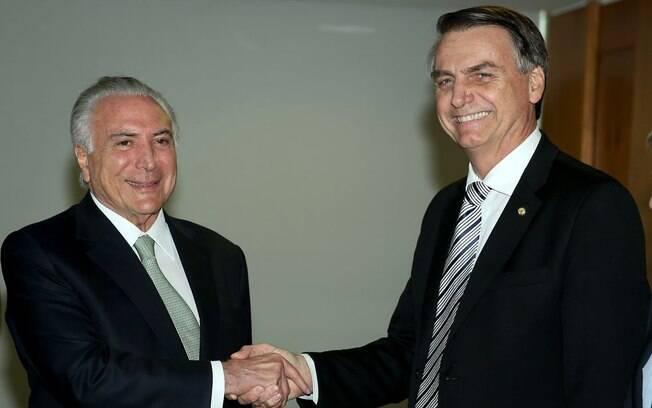 Bolsonaro opiniou que que se fosse Temer, vetaria o reajuste do STF aprovado pelo Senado