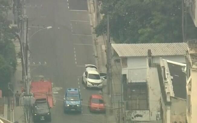 Sequestro ocorre no bairro do Rio Comprido