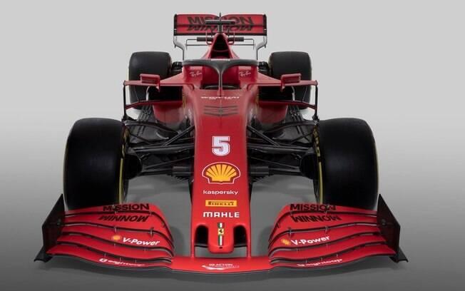 Novo carro da Ferrari para a temporada 2020 da Fórmula 1