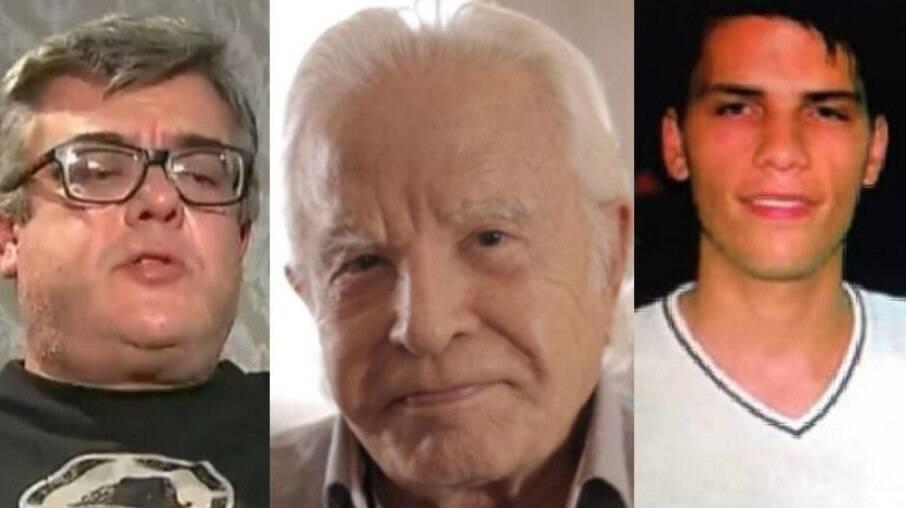 Rodrigo, Cid e Roger Moreira