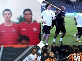 Moreno postou montagem com fotos de ex-companheiros que hoje estão na seleção