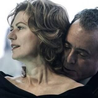 Patricia Pillar e Tony Ramos em 'O Rebu'